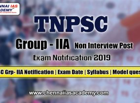 TNPSC Group 2A Notification Exam Pattern & Syllabus 2019